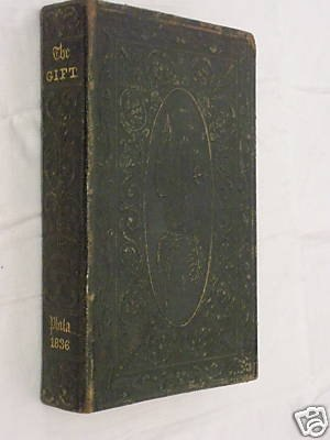 MS. Found in a Bottle - The Gift, Carey and Hart, Philadelphia, 1836