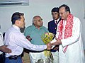 The member of Indian Winter Olympics Team, Gurung Bahadur calls on the Union Minister for Youth Affairs & Sports, Shri Sunil Dutt in New Delhi on May 20, 2005.jpg