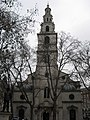 The spire of St Clement Danes Church just off The Aldwych, in central London - geograph.org.uk - 1660548.jpg