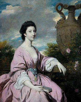 Theodosia Meade, Countess of Clanwilliam - Theodosia Meade, Countess of Clanwilliam (Miss Hawkins-Magill) by Joshua Reynolds