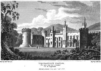 John Scott, 1st Earl of Clonmell - Image: Thomastown Castle, the seat of the Earl of Landaff, Co. of Tipperary