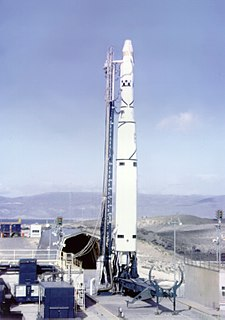 Thor-Agena Rocket developed in the USA