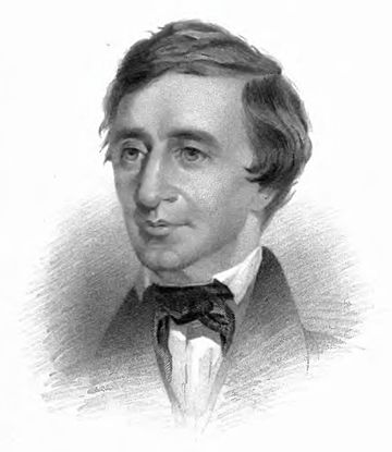 Thoreau Excursions frontispiece 1863.jpg