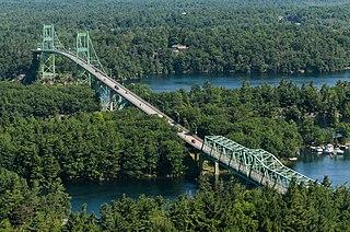 Thousand Islands Bridge Bridge linking Canada and the U.S.