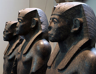 Senusret III - Statues of Senusret III in the British Museum