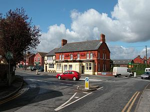 Wroughton - The Three Tuns public house now closed