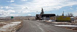 Tie Siding, Wyoming - Tie Siding in 2014.