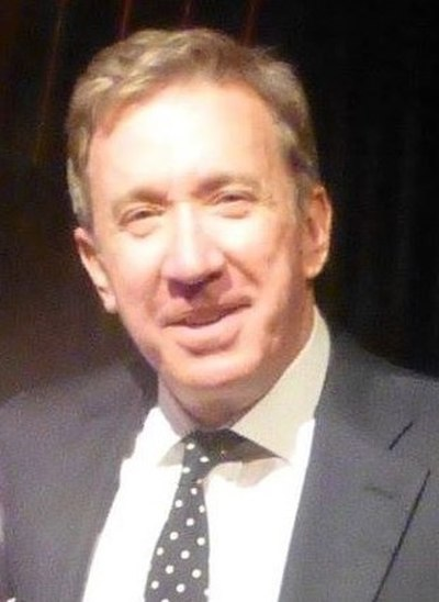 Tim Allen, American actor and comedian