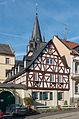 Timber-framed building at Rheinallee 4, Oestrich 20150207 1.jpg