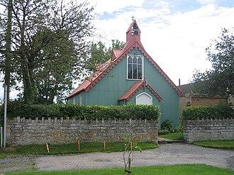 Tin tabernacle - Image: Tin tabernacle at Alhampton, Ditcheat, Somerset