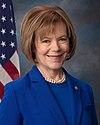 Tina Smith, official portrait, 116th congress.jpg