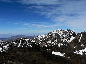Le Toubkal (4 167 m)