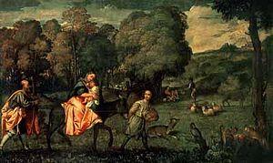 Fuga in Egitto (Tiziano)