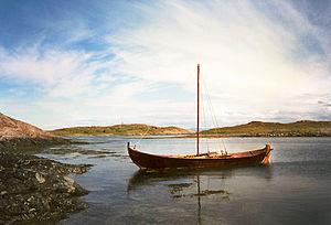 Smøla - View of a boat in Smøla