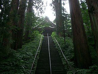 Togakushi Shrine - The lower shrine Hōkō-sha
