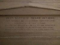 Tomb of Jean-Baptiste-Pierre Bevière in Panthéon.jpg