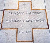 Tomb of Madame de Maintenon.jpg