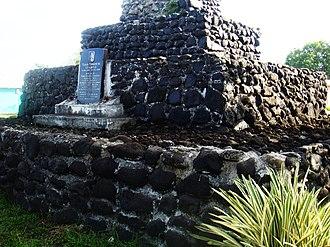 Lepea - Tomb of Tupua Tamasese Lealofi III in Lepea.