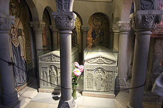 Mirian III of Iberia - The burials of King Mirian and Queen Nana at Samtavro church in Mtskheta