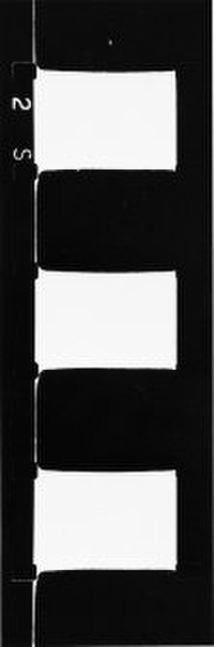 Structural film - The Flicker by Tony Conrad produces a flicker effect with black and white frames.