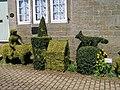 Topiary, Towngate, High Bradfield - 2 - geograph.org.uk - 1630588.jpg