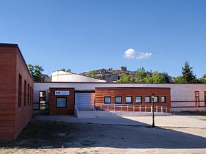Spanish National Health System - Health center in Torrelodones (Community of Madrid).