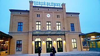 Toruń Główny railway station Railway station in Toruń, Poland