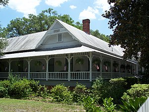 National Register of Historic Places listings in Union County, Florida - Image: Townsend House Lake Butler 01