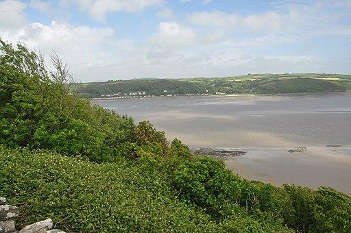 Towy Estuary from Llansteffan Castle (5986)