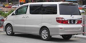 Toyota Alphard - Toyota Alphard (Malaysia)