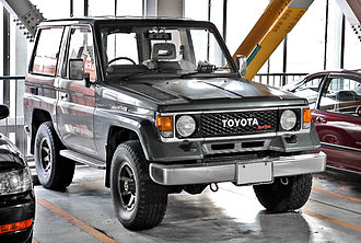 Toyota Land Cruiser Prado - Land Cruiser 70 Light (LJ71G, Japan)
