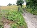 Track to Broom Farm - geograph.org.uk - 1399807.jpg