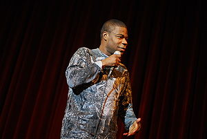 Tracy Morgan - Morgan performing stand-up in 2008.