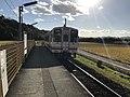 Train for Nogata Station at Shin-Toyotsu Station.jpg