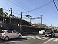 Train of Sanyo Main Line on east side of Senkoji Crossing.jpg
