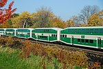 Trainspotting GO train -440 headed by MPI MP40PH-3C - 651 (8123534599).jpg