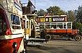 Tram, tram, bus, Beamish - geograph.org.uk - 2666293.jpg