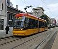 Tram in Warsaw, Pesa Jazz 134N n°3822 - front.jpg