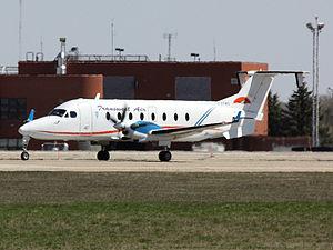 Transwest Air - Transwest Air Beech 1900D C-GTWG at Regina International Airport