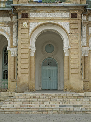 Kogon, Uzbekistan - Southern side of the Travel Palace