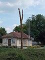 Tree of Life (oak) by Gyula Papp, 2010 in Gyömrő.jpg