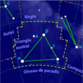 Triangulum australe constellation map-fr.png