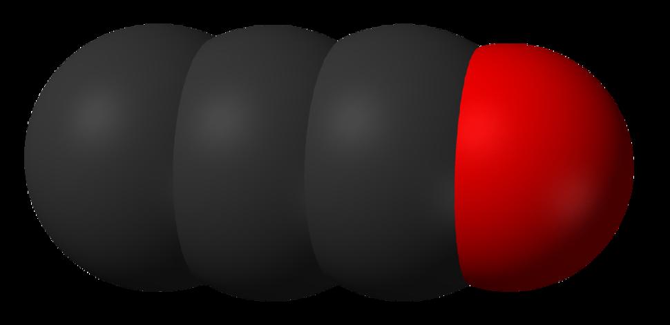 Tricarbon-monoxide-3D-vdW