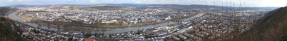 Trier Panorama Mariensaeule kl