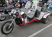 "In some jurisdictions, the term ""motorcycle"" includes trikes"
