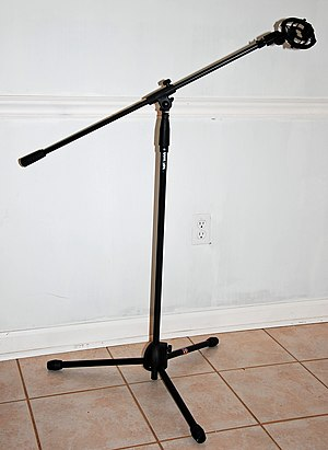 Microphone stand - Image: Tripod microphone stand