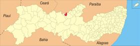 Localização de Triunfo