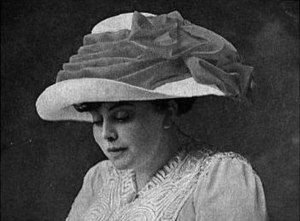 Trixie Friganza - Friganza in a photo from The Green Book Album (January, 1910)