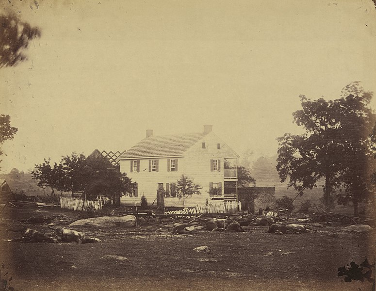 File:Trossell's House at the Battlefield of Gettysburg.jpg