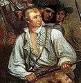 Trumbull, Death of Warren, Battle of Bunker Hill detail of McClary.jpg